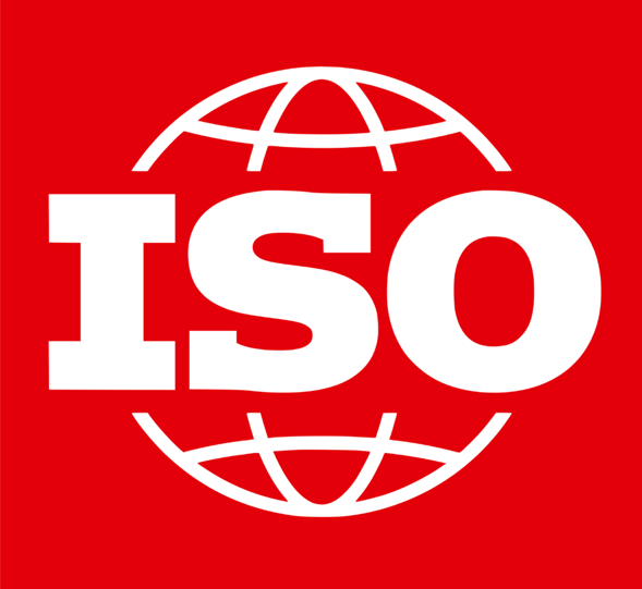 The logo of the International Organisation for Standardisation